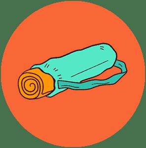 Чехлы для йога ковриков