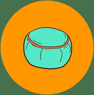 Подушки для йоги