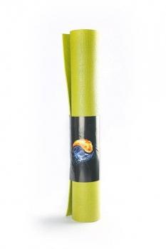 Коврик для йоги Кайлаш (Yin Yang Studio) 3 мм ПВХ зеленый