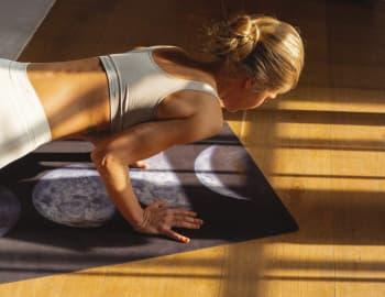 Коврик для йоги Moon Phase 3х61х173 Omma (Yoga ID)
