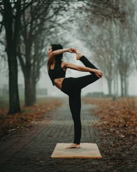 Коврик для йоги Elephant 3х61х183 Yoga Club Пробковое покрытие