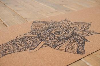 Коврик для йоги Elefant каучук