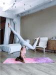 Дизайнерский коврик для йоги