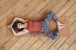 Коврик для йоги LEO Yoga Club Пробковое покрытие_1