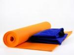 Чехол для йога коврика Simple без кармана синий