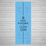 Коврик для йоги из натурального каучука Karma_2
