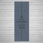 Коврик для йоги из натурального каучука Karma_3