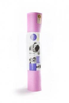 Коврик для йоги Асана Стандарт розовый 4 мм