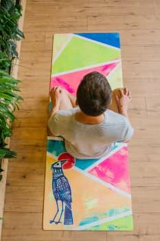 Коврик для йоги City (Bird) 3Х66Х183 EGOyoga