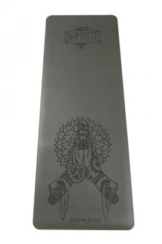 Коврик для йоги Namaste серый