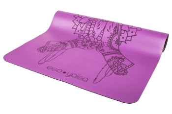Коврик для йоги Namaste фиолетовый каучук