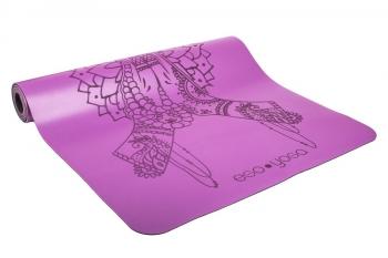 Коврик для йоги Namaste фиолетовый полиуретан