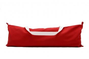 Сумка для йога-коврика Астра красная фото