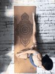 Коврик для йоги Mehendi 3х61х183 Yoga Club Пробковое покрытие_3