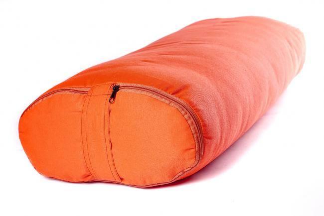 Болстер для йоги Айенгара прямоугольный шерстяной 62 х 32 х 14 см