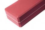 Кирпич для йоги из EVA-пены Yoga brick красный