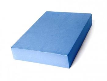 Опорный блок для йоги из EVA-пены голубой