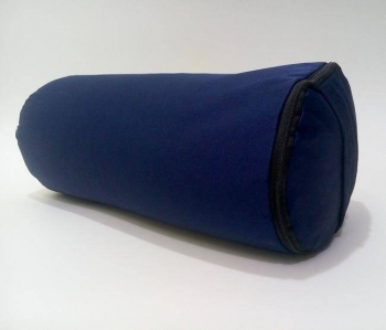 Болстер для йоги из гречихи синий