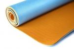 Коврик для йоги Шакти Earth Голубой-Оранжевый
