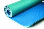 Коврик для йоги Шакти Earth Зеленый + Голубой_2