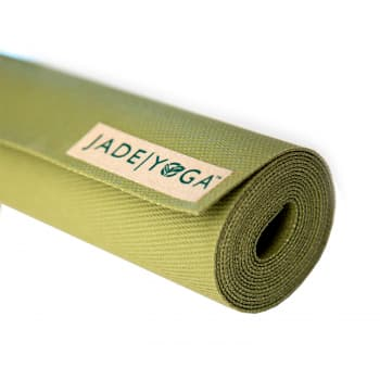 Коврик для йоги Jade Voyager оливковый
