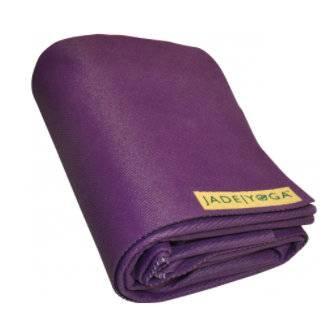 Коврик для йоги Jade Voyager фиолетовый тонкий