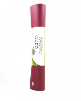 Коврик для йоги Comfort PRO бордовый 200 см