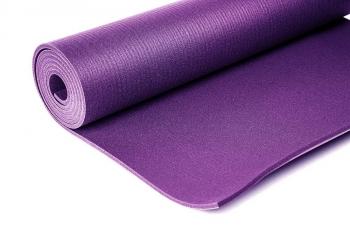 Коврик для йоги Comfort PRO фиолетовый ПВХ