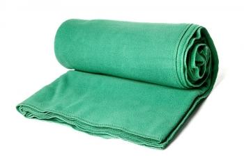Плед Сурья для шавасаны зеленый
