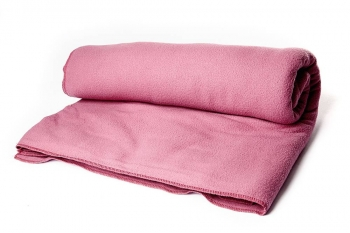 Плед Сурья для шавасаны розовый