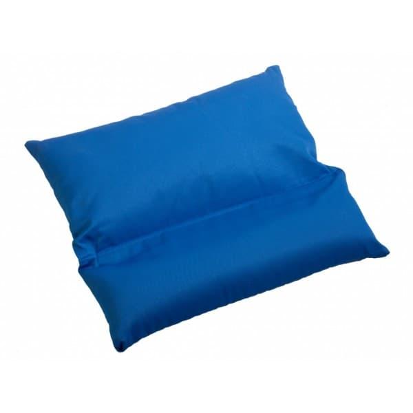 Подушка с валиком под шею зеленая фото