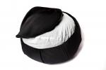 Подушка для медитации Ом черная