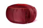 Подушка для медитации Ом бордовая