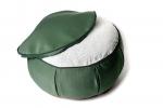 Подушка для медитации Ом зеленая