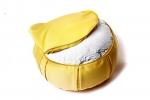Подушка для медитации Ом желтая