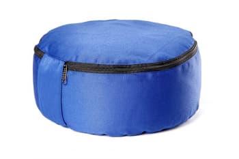 Подушка для медитации spiritual с гречишной лузгой бордовая