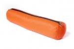 Валик из гречихи с хлопковым чехлом оранжевый