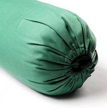 Чехол для болстера Айенгара Хлопок зеленый