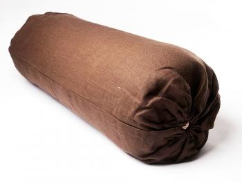 Чехол для болстера Айенгара Натуральный Лен коричневый