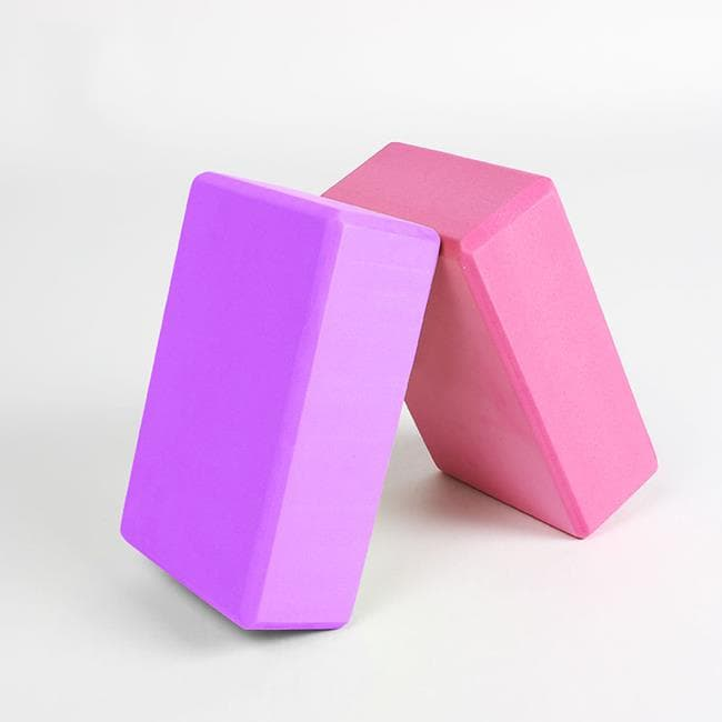 Блок (кирпич) для йоги из EVA пены Рамайога 8х15х23