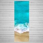 Коврик для йоги Ocean ID из микрофибры и каучука 3 мм