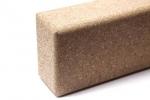 Блок (кирпич) для йоги из пробки 7,5х12х23