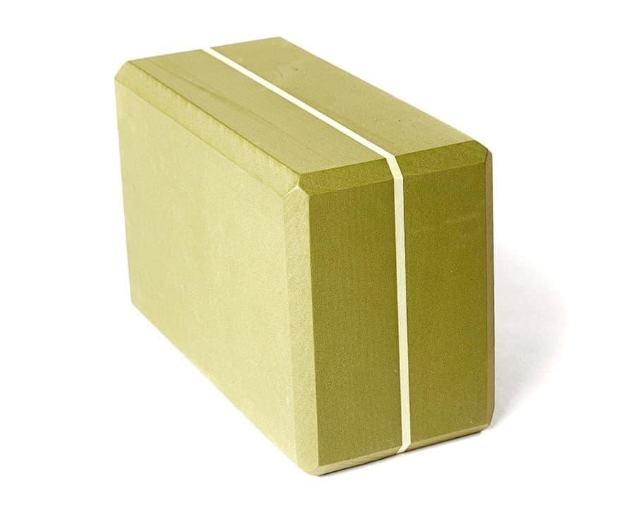 Блок (кирпич) для йоги из EVA пены 10х15х23 Yoga brick Supersize