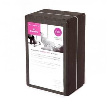 Кирпич для йоги из EVA-пены Yoga brick Supersize черный