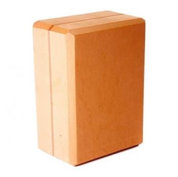 Кирпич для йоги из EVA-пены Yoga brick Supersize оранжевый