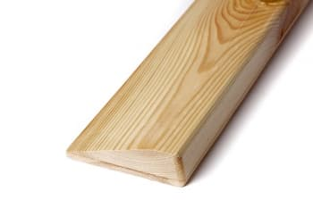 Планка для йоги деревянная лакированная