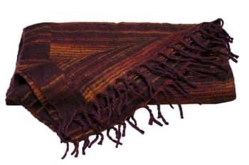 Плед для медитации и шавасаны коричневый