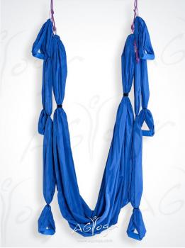 Йога-гамак AirSwing Light голубой