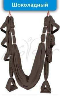 Йога-гамак AirSwing Comfort  коричневый