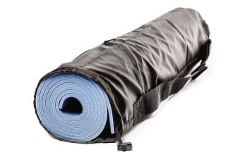 Чехол для йога коврика Simple без кармана черный